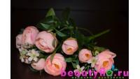Букет камелий нежно-розовый