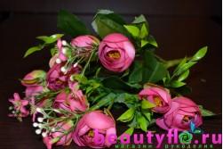 Цветы в букетах