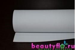 Фоамиран  белый 50*50 1мм