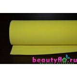 Фоамиран желтый 50*50 1мм