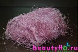 Сизаль светло-розовый